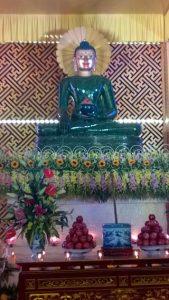 tượng phật ở chùa hoằng phúc quảng bình