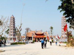 ngôi chùa cầu an tại quảng bình