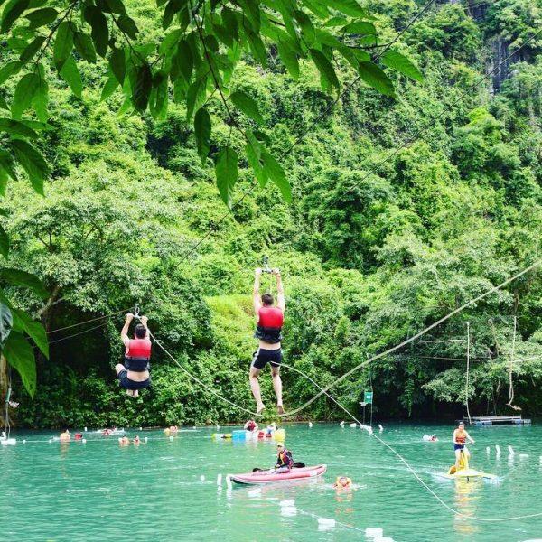Tour ghép Sông Chày Hang Tối