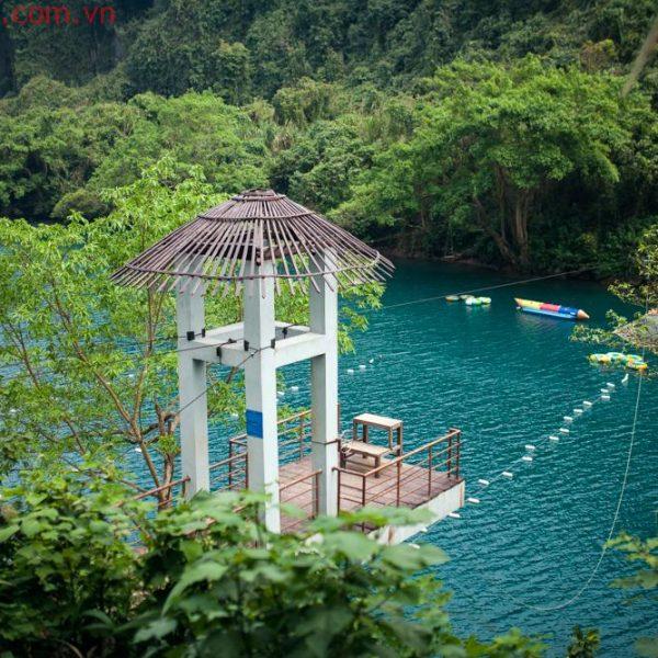 khám phá Sông Chày - Hang Tối Tại Quảng Bình