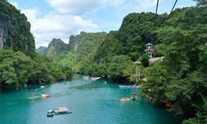 Tour ghép Sông Chày Hang Tối động Phong Nha