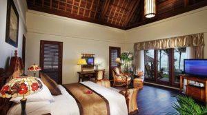 phòng ngủ thiết kế sang trọng của sun spa resort - khách sạn đẹp gần biển nhật lệ
