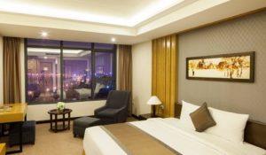 phòng ngủ khách sạn mường thanh - khách sạn đẹp gần biển nhật lệ