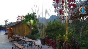 bên ngoài đoàn gia resort - địa điểm sống ảo ở quảng bình