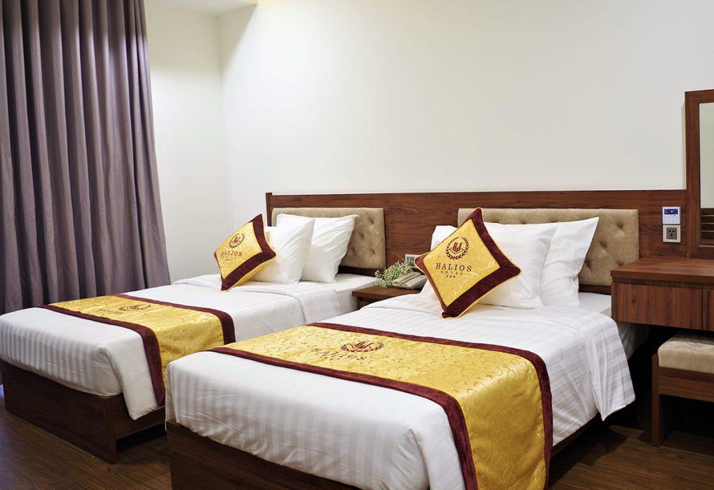 classic twin khách sạn halios