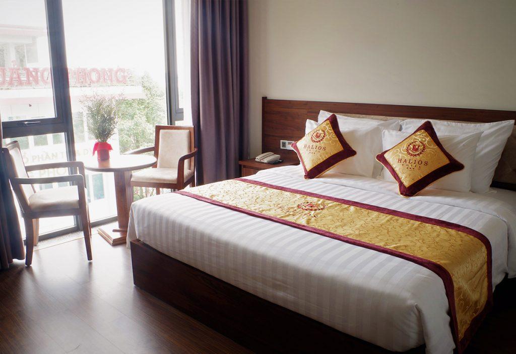 phòng classic khách sạn halios