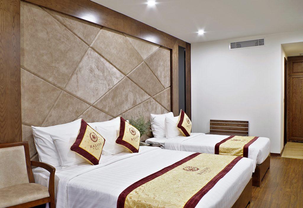 junior suite triple khách sạn halios