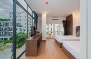 cửa sổ deluxe twin cao cấp khách sạn marilla
