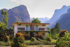 view garden room chày lập farmstay & resort