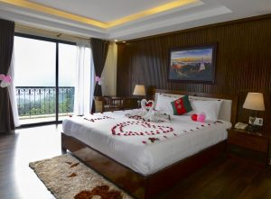 phòng deluxe double the view sapa hotel