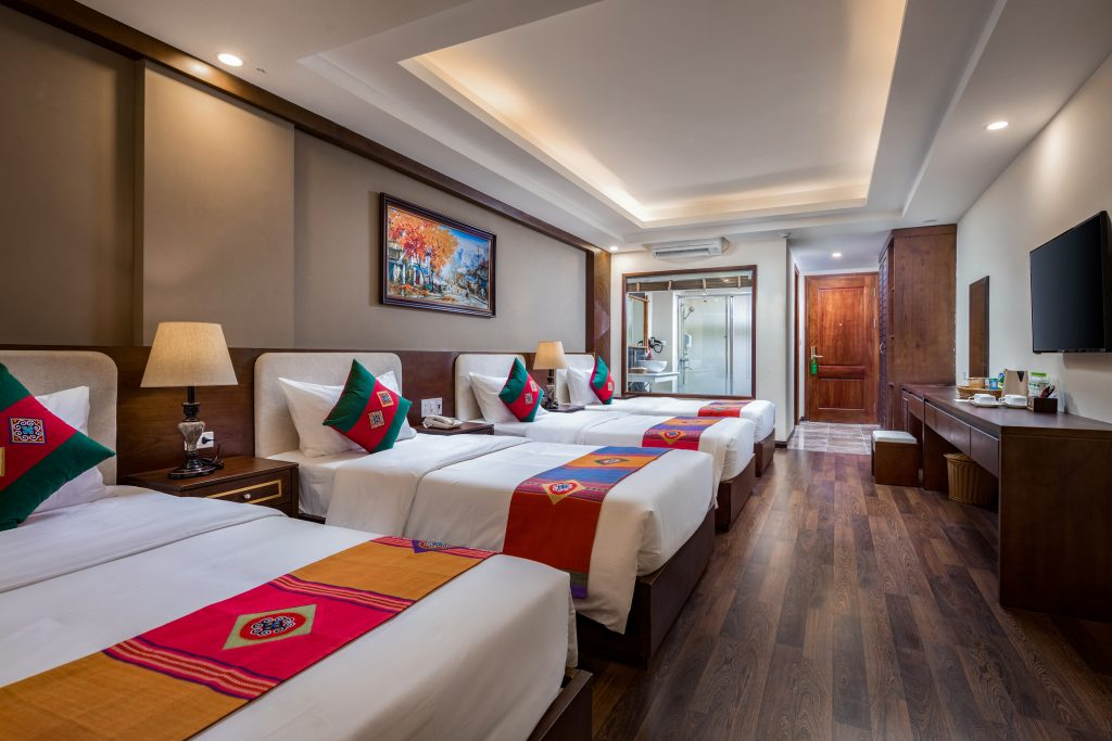 Superior 4 giường the view sapa hotel