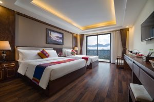 Deluxe triple twin the view sapa hotel