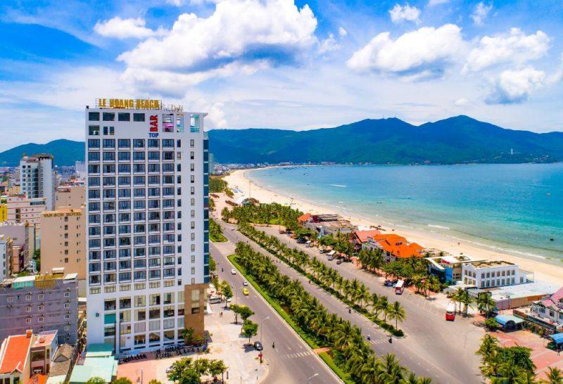lê hoàng beach hotel - khách sạn ở đà nẵng