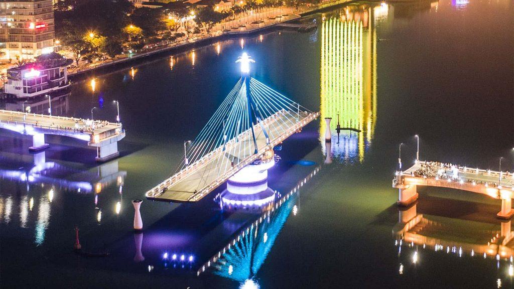 cầu sông hàn - du lịch đà nẵng nên đi đâu