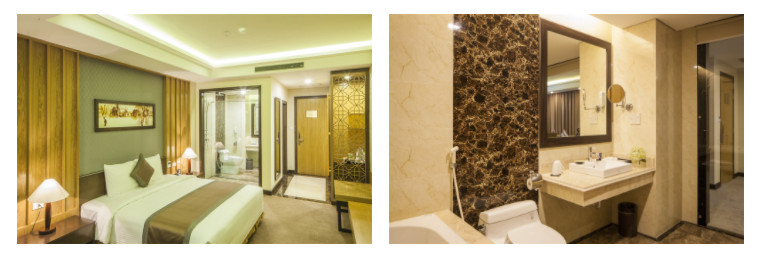 deluxe king room mường thanh luxury