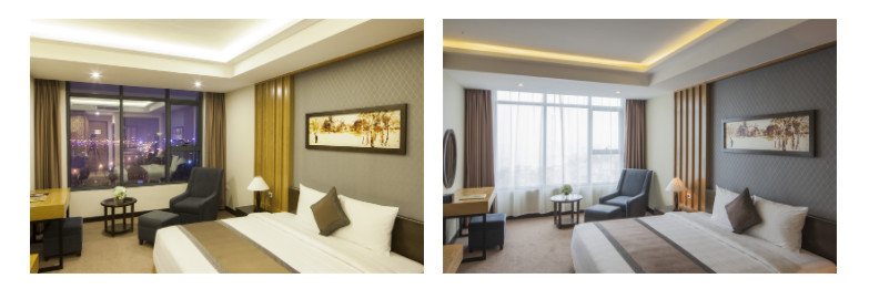 deluxe king ocean view mường thanh luxury