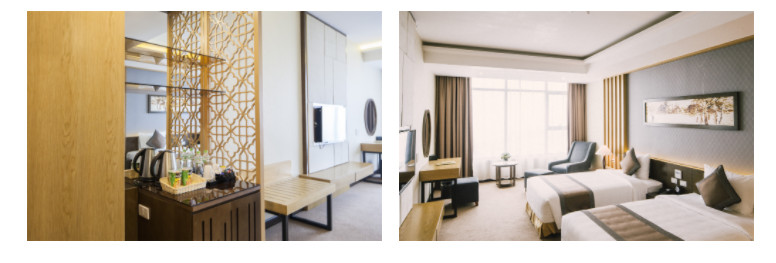 deluxe twin room mường thanh luxury