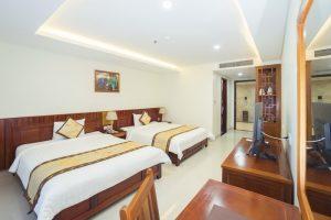 phòng deluxe twin - vĩnh hoàng hotel