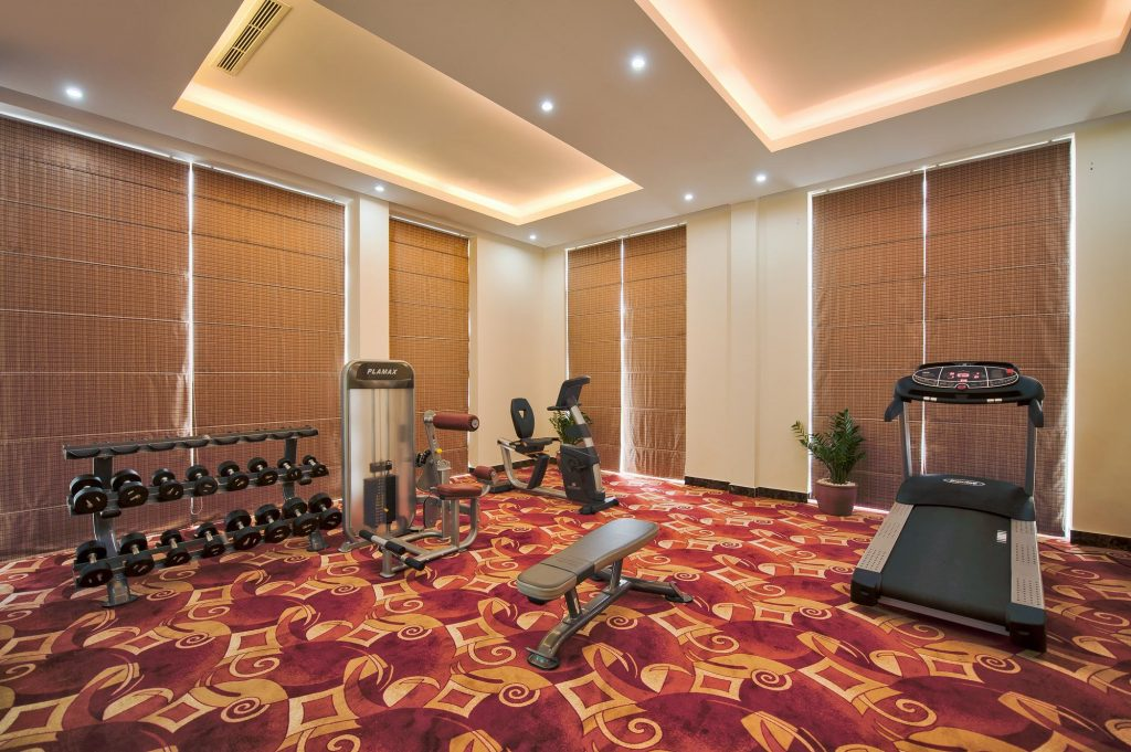 fitness centre mường thanh holiday