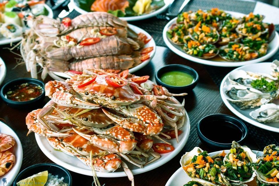 hải sản - đồng hới ăn gì ngon