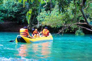 suối nước mooc - kinh nghiệm du lịch quảng bình cho gia đình