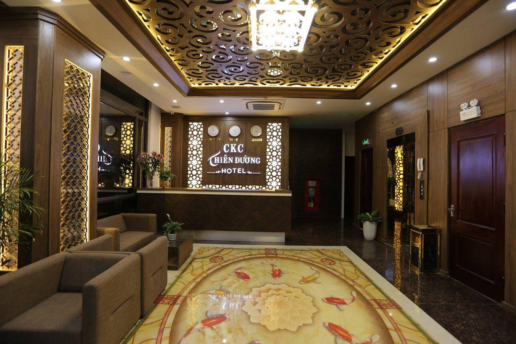 lễ tân ckc thiên đường hotel quảng bình